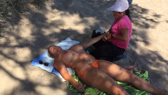 sex masage på Fyn Houstrup strand naturist