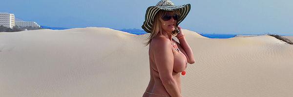 Nackt in Fuerteventura