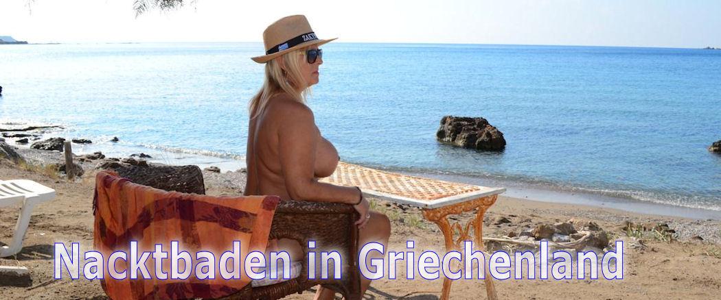 Nacktbaden in Griechenland