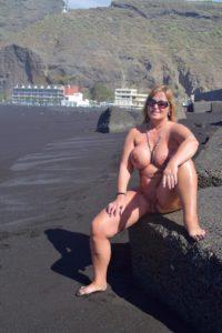 nackt am FKK-Strand von Tazacorte